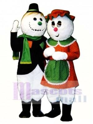 Granny Snow Christmas Mascot Costume