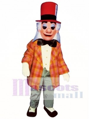 Mad Hatter Mascot Costume