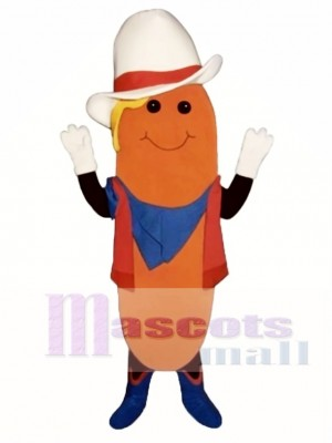 Western Corn Dog Mascot Costume