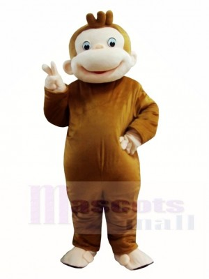 Curious George Monkey Mascot Costumes Animal