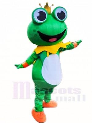 Frog Prince Mascot Costumes Animal