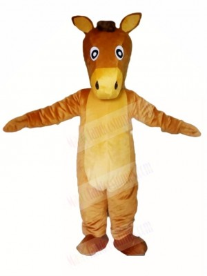 Brown Horse Mascot Costumes Animal