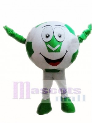 Green Ball Football Mascot Costumes