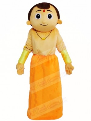 Indian Man Mascot Costumes People