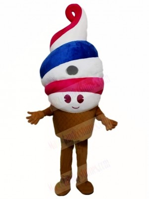 Ice Cream Mascot Costumes Food Dessert