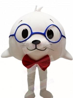 Cute White Sea Lion Seal Mascot Costumes Animal