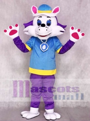 Husky Dog Everest Mascot Costumes Paw Patrol Snowy Mountain Pup Cartoon