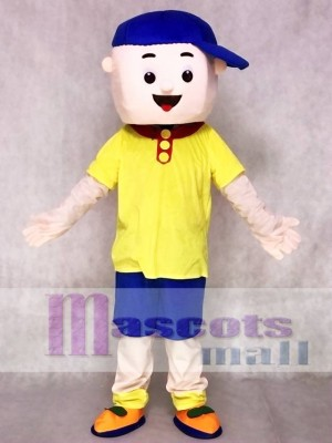 Caillou Mascot Costumes Boy Cospaly Cartoon Character