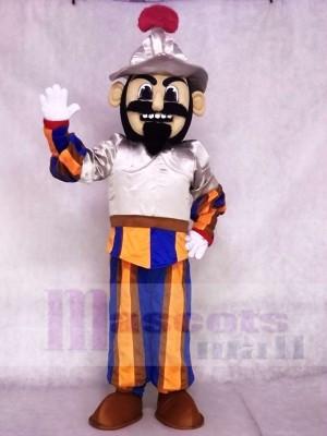 Cute Conquistador Mascot Costumes People