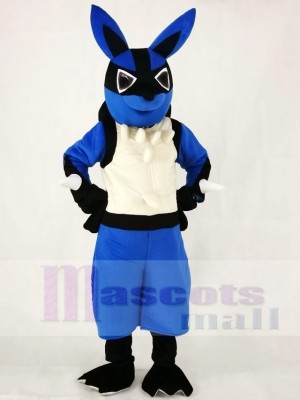 Japanese Cartoon Lucario Pokémon Pokemon Go Mascot Costumes
