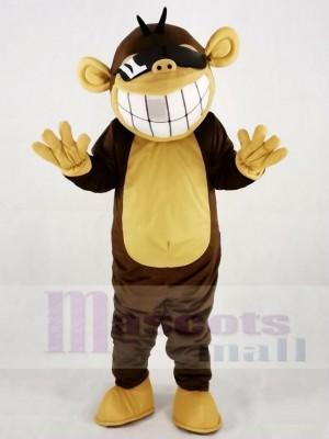 Funny Happy Monkey Mascot Costumes Animal