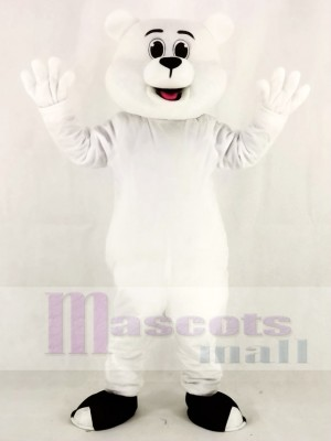 White Polar Bear Mascot Costumes Animal