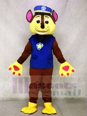 Chase Paw Patrol Mascot German Shepherd Dog Mascot Costumes Cartoon