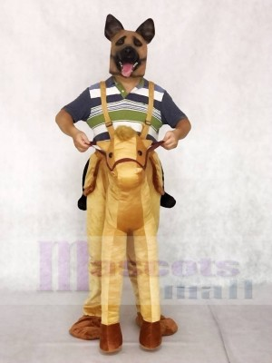 Piggyback Pony Carry Me Ride on Horse Mascot Costumes Animal