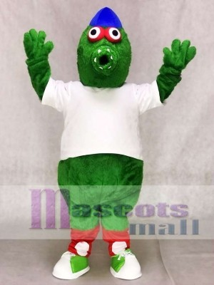 Phillie Phanatic Team Mascot Costumes Green Monster