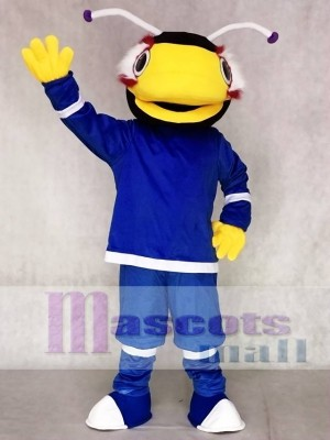 Tampa Bay Lightning Thunderbug Mascot Costumes Black and Yellow Bug Insect