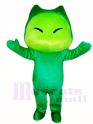 Monster Family Lovely Dad Little Green Terrible Mascot Costumes Cartoon