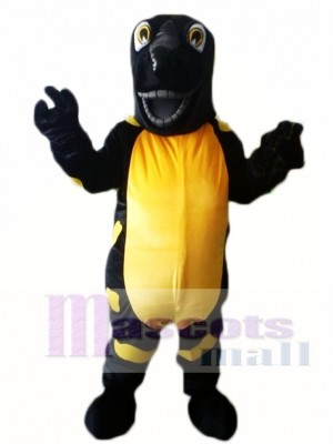 Black Lizard Saura Iguana Aligator Mascot Costumes
