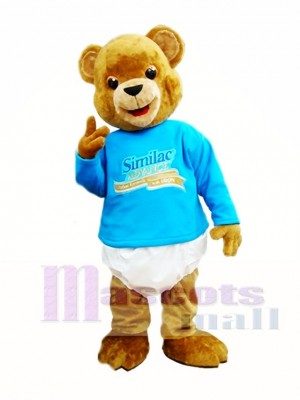 Brown Bear Mascot Costumes