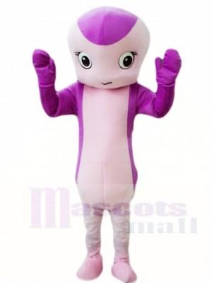 Purple Snake Mascot Costumes Animal