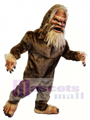 Brown Sasquatch Mascot Costumes