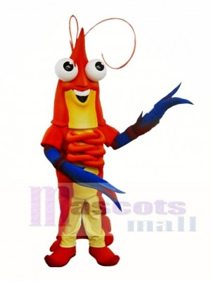 Shrimp Prawn Mascot Costume Shawn the Prawn Mascot Costumes