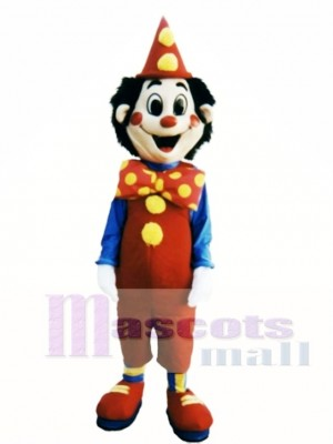 Sparkle the Clown Mascot Costume