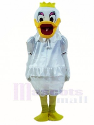Wedding Daisy Duck Mascot Costumes Cartoon