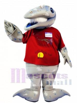 Whale Mascot Costumes Ocean