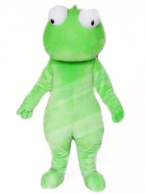 Wild Green Cabrite Lizard Mascot Costumes Animal