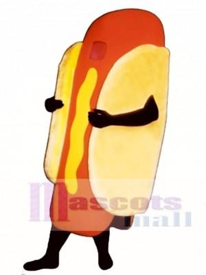 Hot Dog Mascot Costume