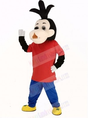 Goofy Dog Son Mascot Costume Cartoon
