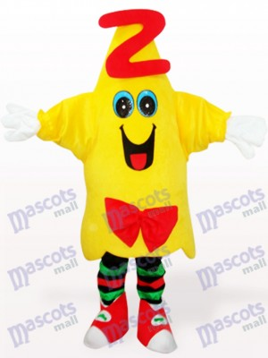 Yellow Star Doctor Animal Adult Mascot Costume