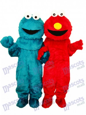 Elmo Sesame Street Super Cute Plush Adult Mascot Costumes