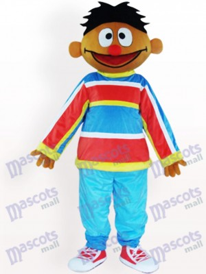 Orange Sesame Street Ernie Adult Mascot Costume
