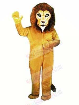 Realistic Lion Mascot Costumes Adult