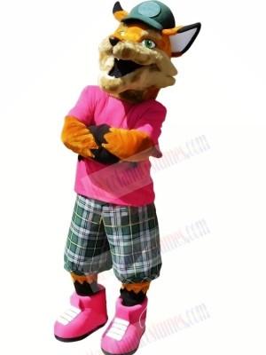 Realistic College Fox Mascot Costumes Cartoon