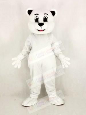 Johnnie Polar Bear Mascot Costume Cartoon