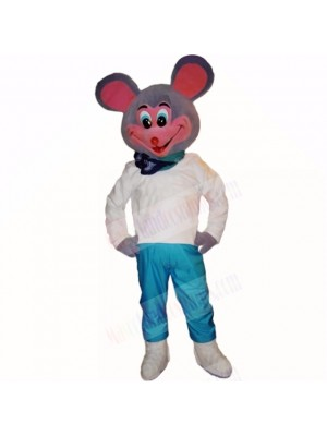 Smiling Sport Lightweight Mouse Mascot Costumes Cartoon