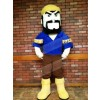Black Beard Voyageur Boatman Woodman Mascot Costumes People