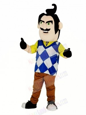 Mr. Peterson from Hello Neighbor Man Mascot Costume People