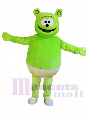 Gummy Green Bear Mascot Costumes