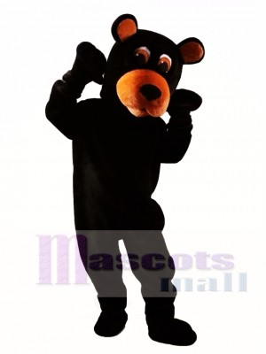 Black Bear Mascot Costume