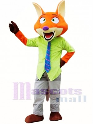 Nick Fox Mascot Costume Zootopia