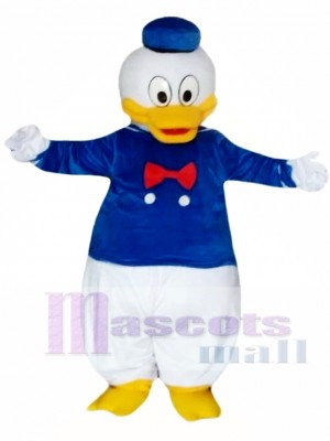 Cartoon Donald Duck Mascot Costume