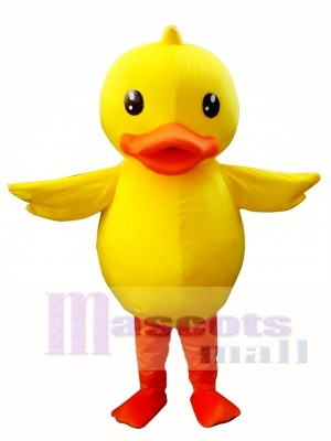 Yellow Duck Mascot Costume Adult Duck Mascot