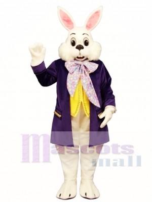 Wendell Purple Rabbit Easter Bunny Mascot Costume