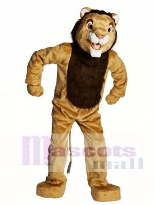 Adult Lion Mascot Costume