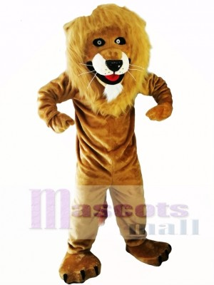 Strong Lion Mascot Costume