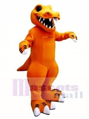 Spice Rex Dinosaur Mascot Costume